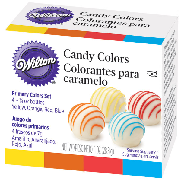 Wilton 4 Primary Candy Colors