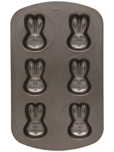 Wilton Non-Stick Mini Bunny Cake Pan