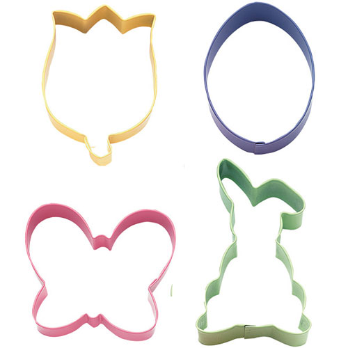 Wilton Hoppy Easter Colored Metal Cutters