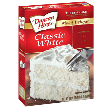 Duncan Hines White Cake Mix
