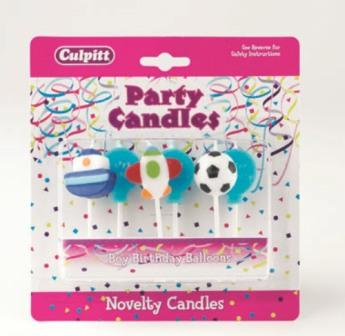 Child Birthday Party Candles