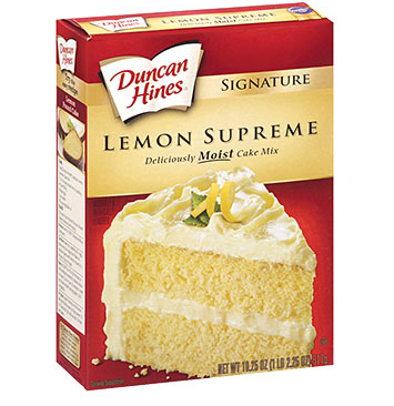 Duncan Hines Lemon Supreme Cake Mix