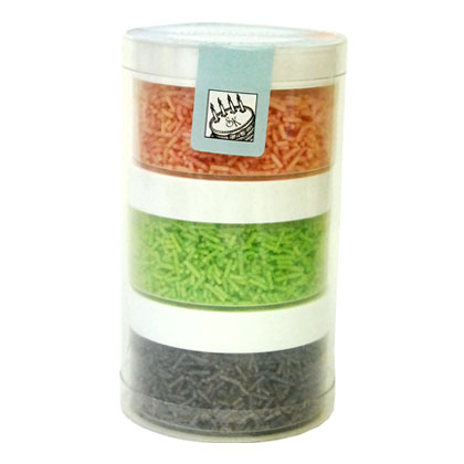SK Vermicelli Stack Pink, Green, Purple
