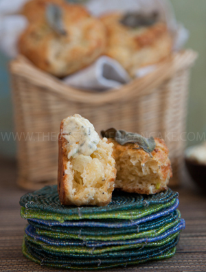 The Great American Cake | Scones salgados - Buttermilk biscuits